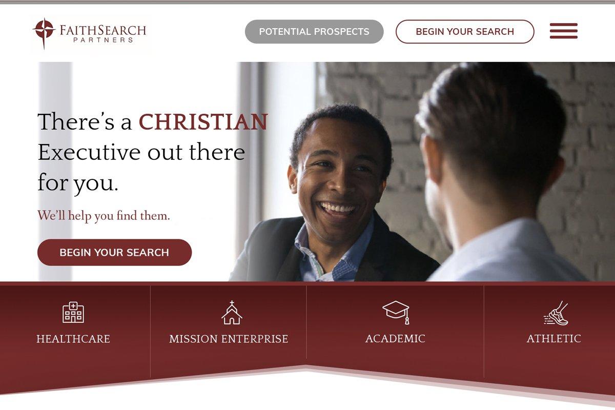 FaithSearch Partners website